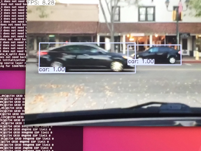 Realtime Object Detection with SSD on Nvidia Jetson TX1